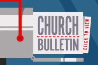 Church Bulletin