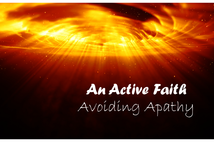 An Active Faith - swirling galaxy